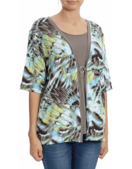Дамска блуза с къс ръкав Rabe