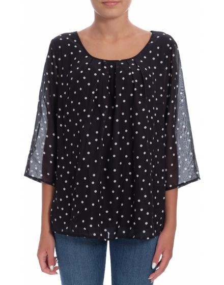 Дамска блуза с къс ръкав Janina