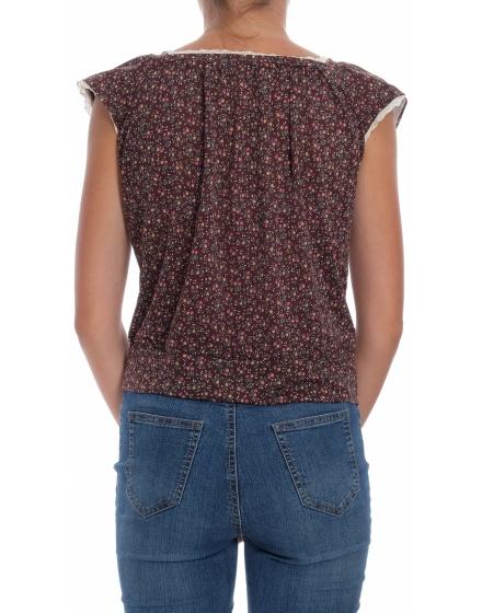 Дамска блуза с къс ръкав One After Another