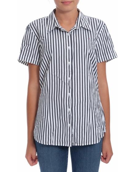 Дамска риза с къс ръкав Tommy Hilfiger
