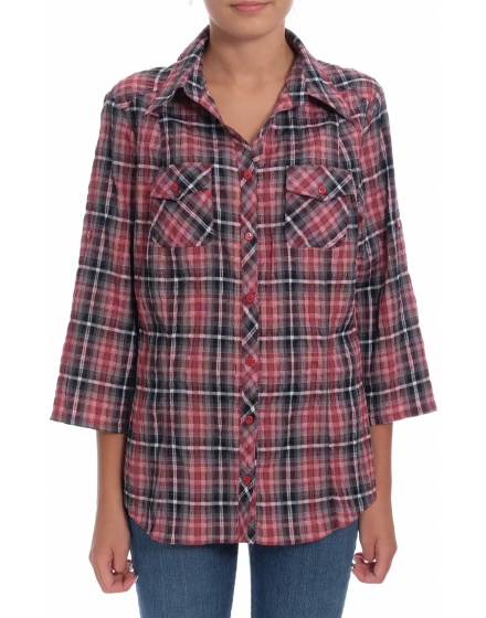 Дамска риза с къс ръкав Adler