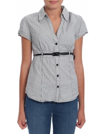 Дамска риза с къс ръкав Flame
