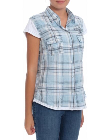 Дамска риза с къс ръкав John Baner