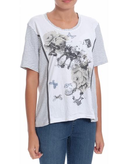 Дамска блуза с къс ръкав Cosima
