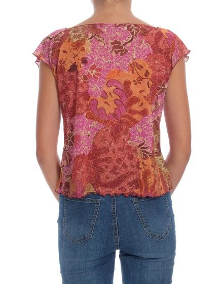 Дамска блуза с къс ръкав Verse