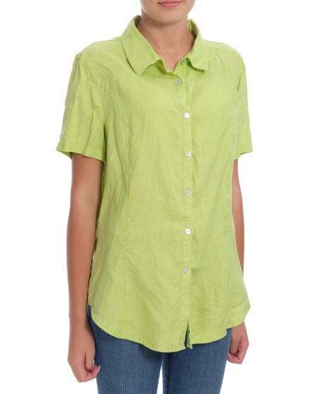 Дамска риза с къс ръкав Pure Linen