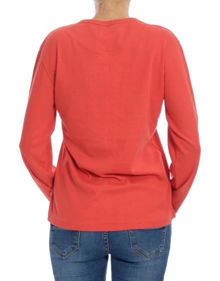 Памучна блуза Replay