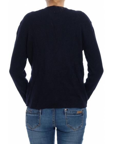 Мерино пуловер Echo