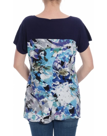 Дамска блуза с къс ръкав