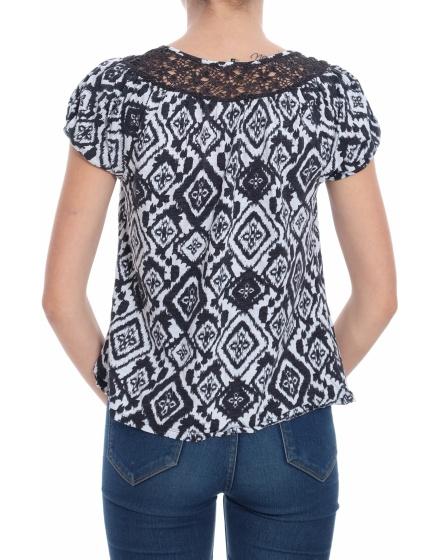 Дамска блуза с къс ръкав TU