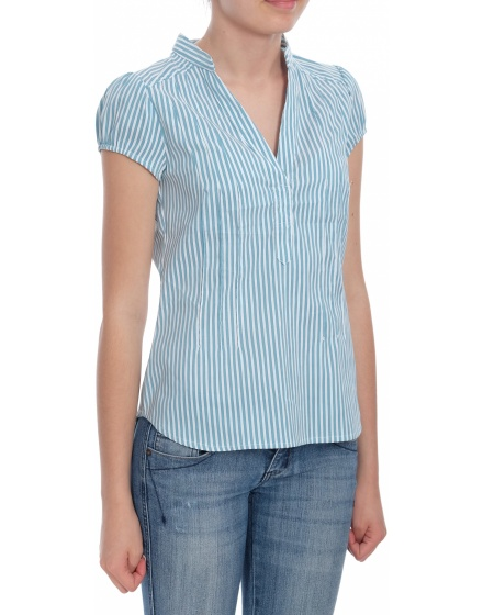 Дамска блуза с къс ръкав H&M