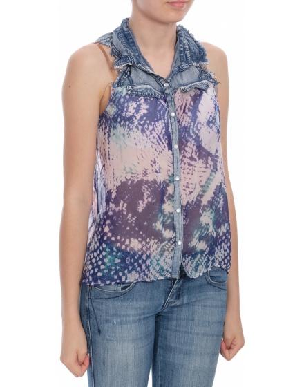 Дамска блуза с къс ръкав Tally Weijl