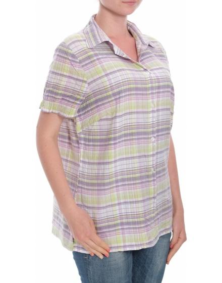 Дамска риза с къс ръкав AproduktZ