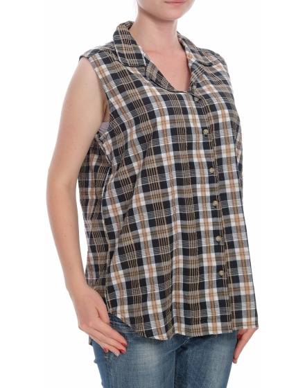 Дамска риза с къс ръкав Weekend