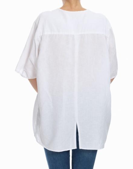 Дамска риза с къс ръкав The Barn
