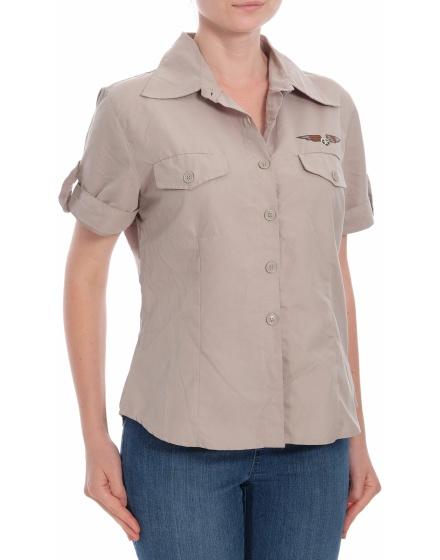 Дамска риза с къс ръкав Kombi