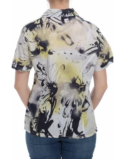 Дамска риза с къс ръкав Blu*el