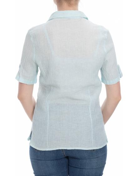 Дамска риза с къс ръкав Gina Conti