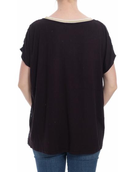 Дамска блуза с къс ръкав Promiss