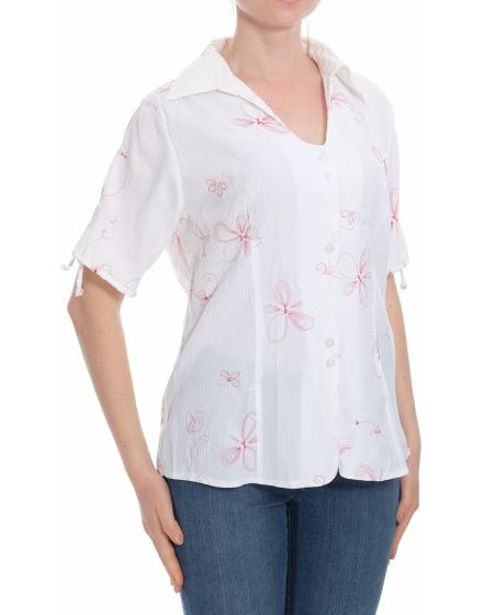 Дамска риза с къс ръкав Sure