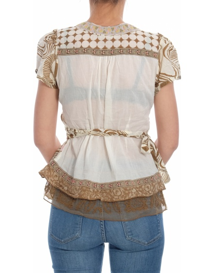 Дамска блуза с къс ръкав DIDI