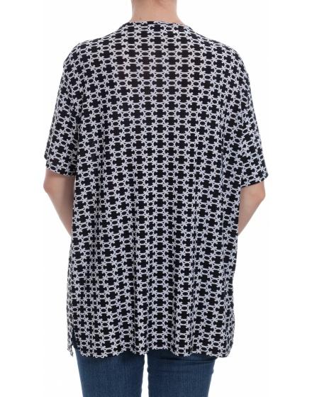Дамска блуза с къс ръкав Alex Line