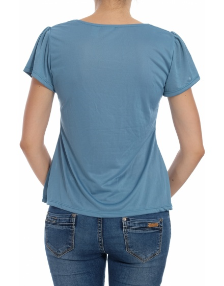 Дамска блуза с къс ръкав Chillytime