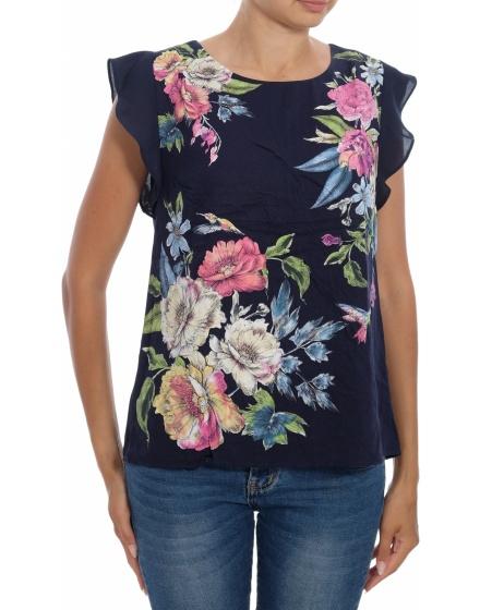 Дамска блуза с къс ръкав Oasis